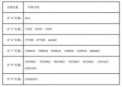 兆丰股份中签号结果查询 兆丰股份300695中签号码有哪些?