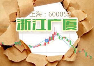 浙江广厦二股东300多万股不见了