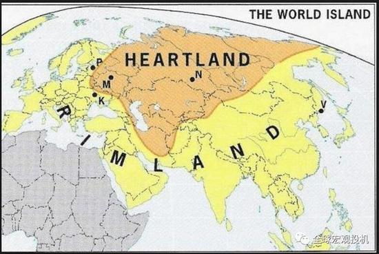 世界岛屿的枢纽和边缘